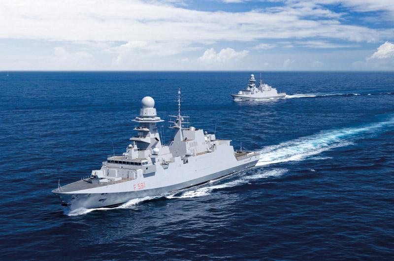 Itália ordena mais 2 fragatas FREMM
