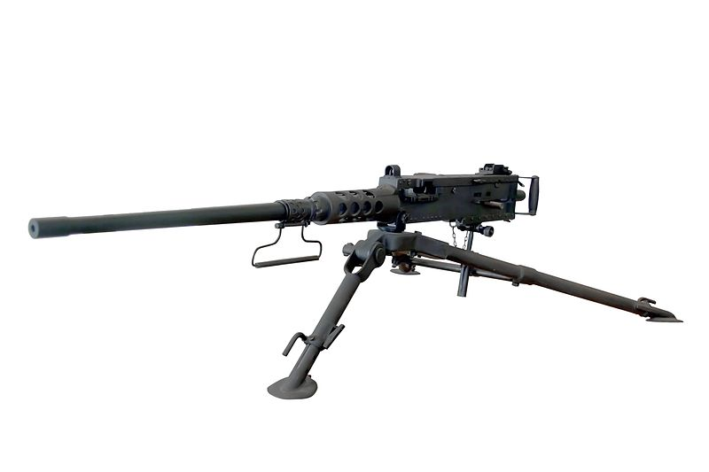 M2 Machine Gun ou Browning .50 Machine Gun