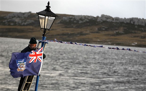 Argentina contesta na Justiça perfuração de petroleiras nas Malvinas
