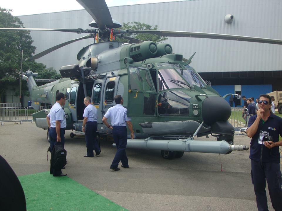 Atualizado LAAD 2015: Helibras apresenta  o H-36  Caracal