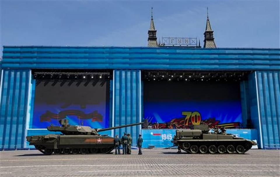 649Russia New Tank