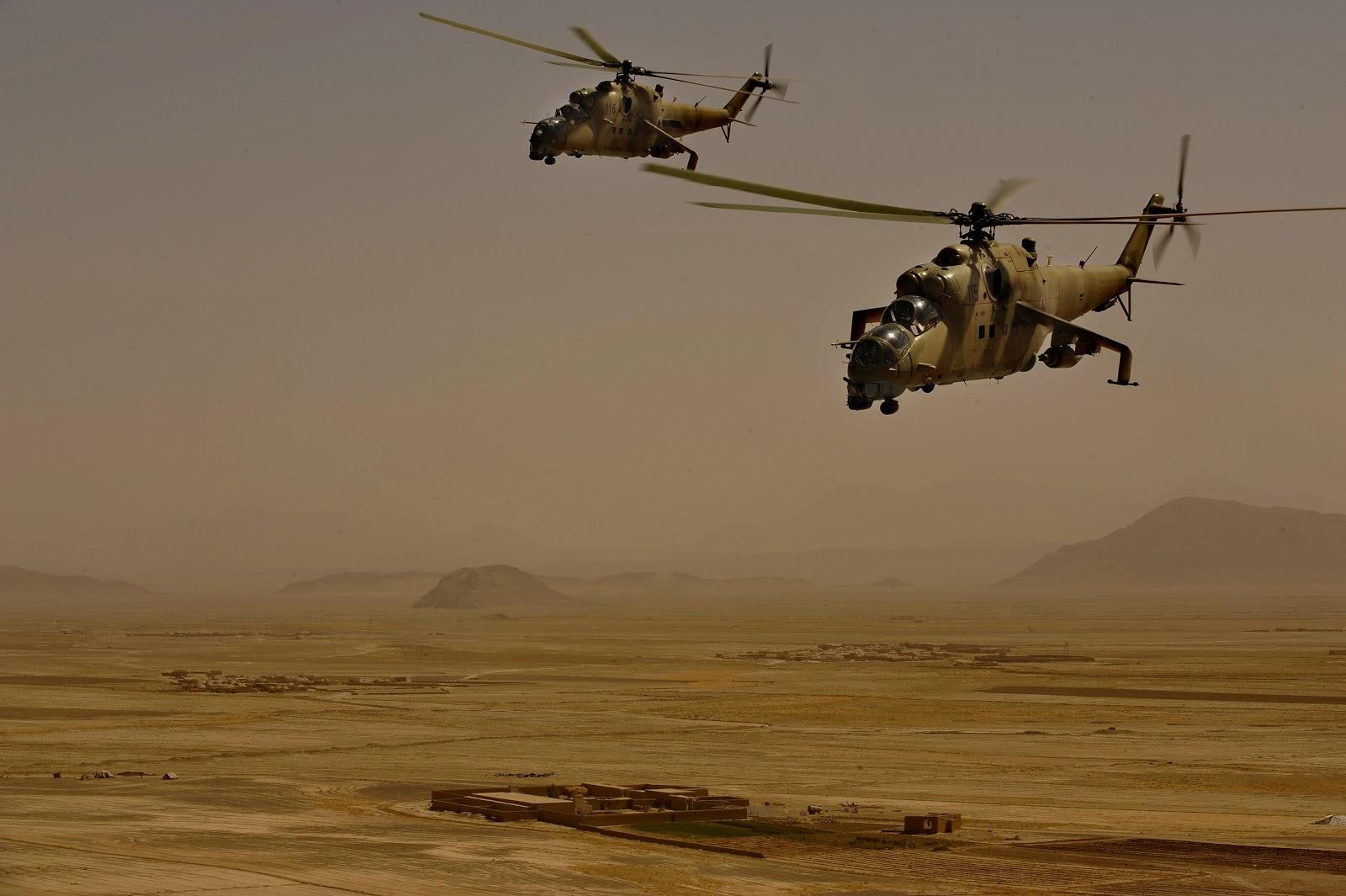 Afghan_Mi-35s