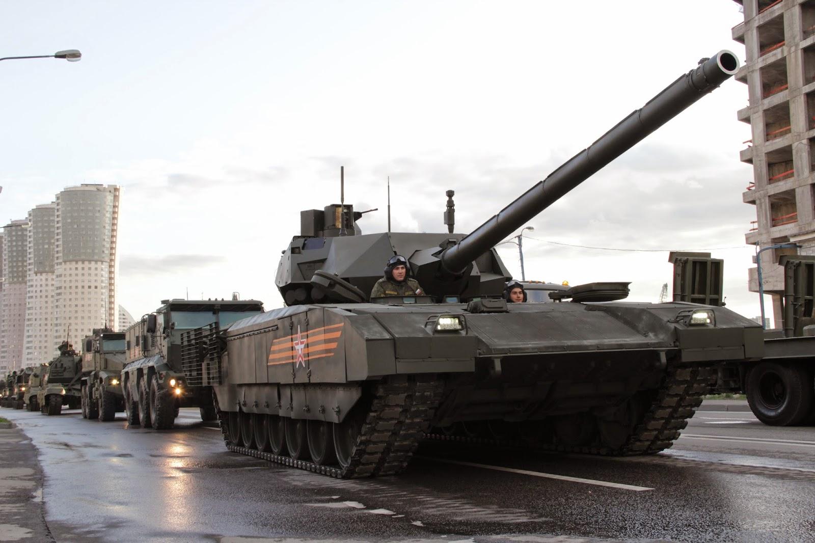 Índia quer desenvolver tanque a partir da plataforma Armata