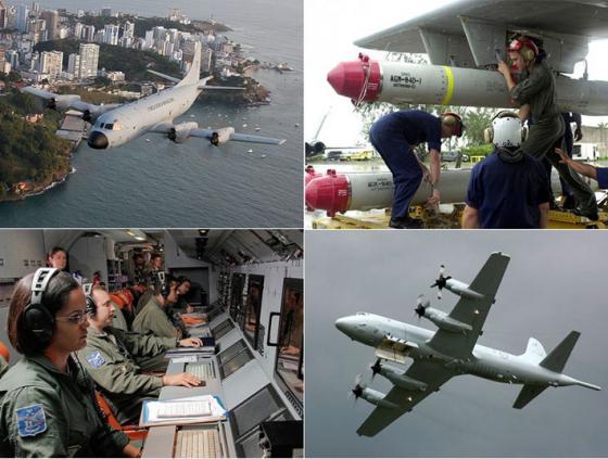 FAB vai equipar seus P-3 AM com míssil antinavio AGM-84L Harpoon que atinge alvo à distância de 278 km