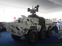 Peru apresenta variante modernizada do seu blindado BRM-600