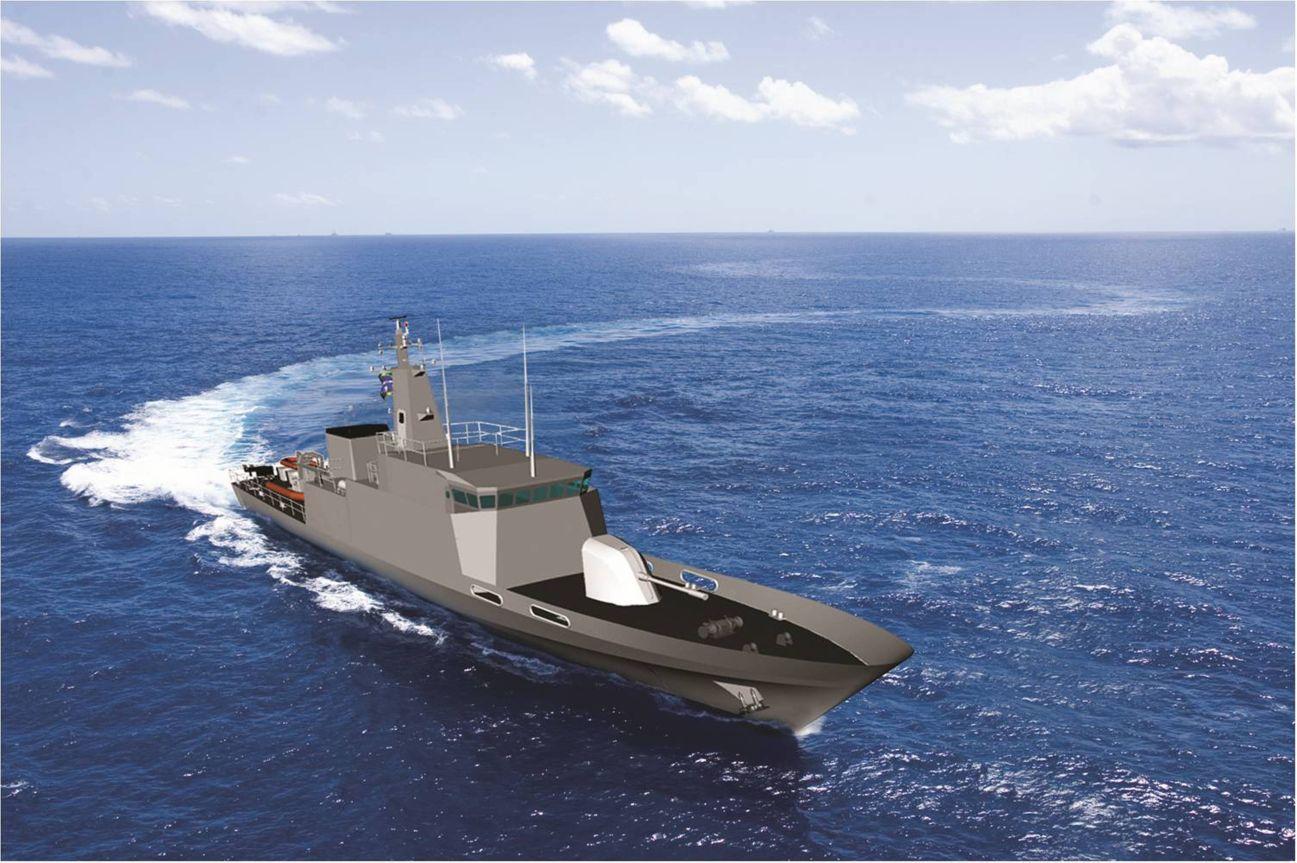 Novo navio de patrulha 500T da MB?