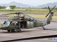 Acidente com UH-60L Black Hawk da aviação do Exercito Colombiano.