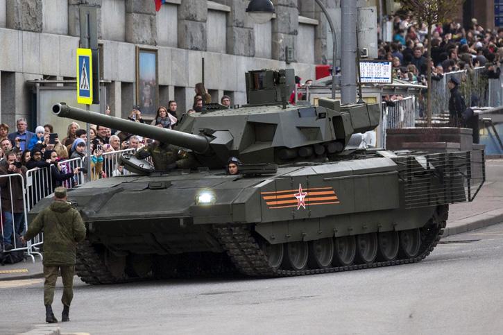 Índia e China demonstram interesse em adquirir o novo tanque russo Armata