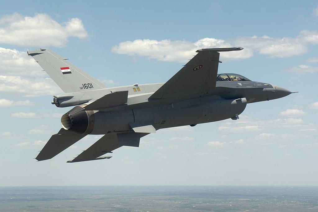 Base que sediará os F-16 iraquianos está quase concluída