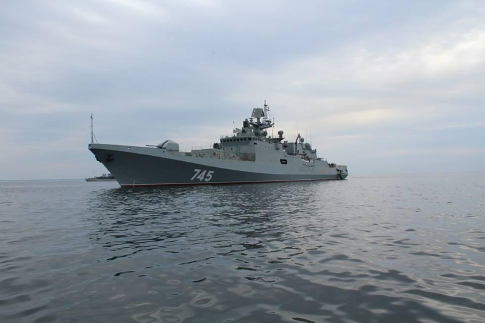 Rapidinhas Rússia:  Grigorovich na frota do Báltico e primeiras imagens da nova corveta Russa