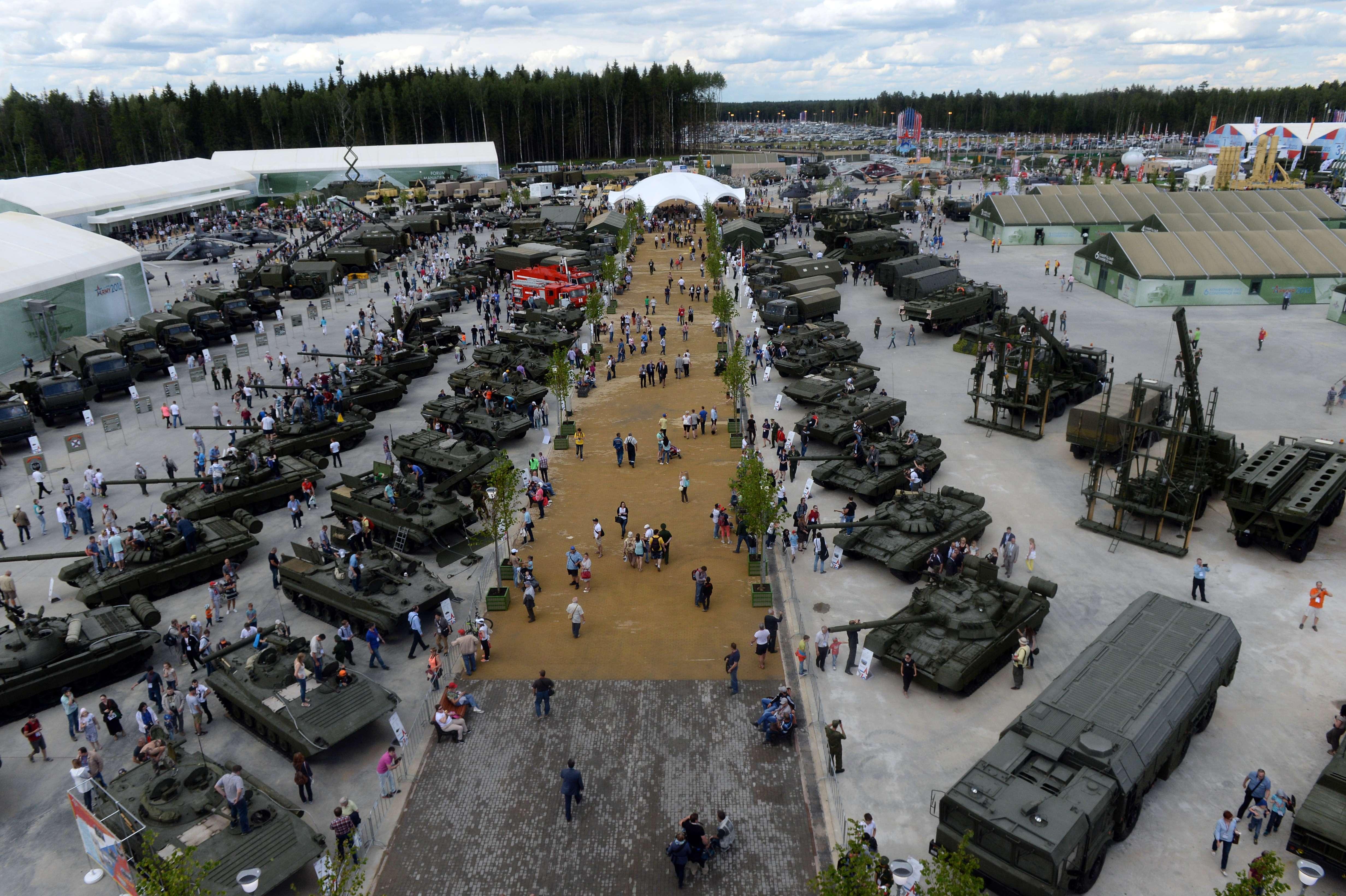 Putin inaugura 'Disneyland militar', parque temático para inspiração patriótica