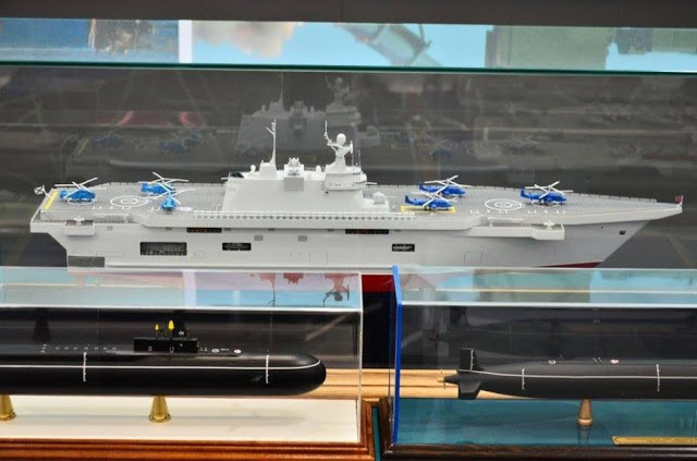 Russian helicopter carrier in response to the failed Mistral deal 3