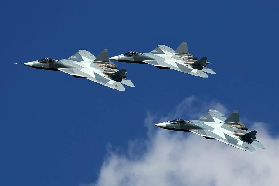 Programa T-50 iniciará  os testes em mais 3 protótipos