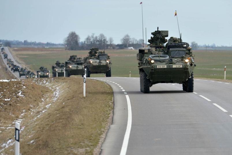 EUA planejam presença militar inédita desde 1989 no Leste Europeu.
