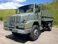 Caminhão Militar Mercedes Benz LAK 1418 4×4
