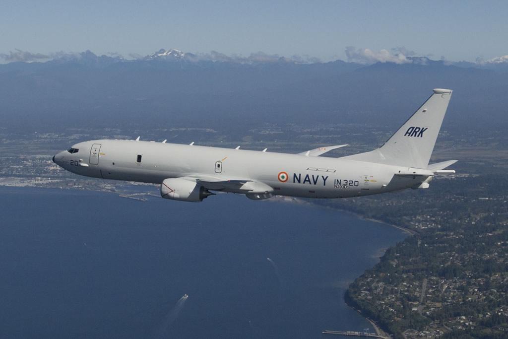 Índia aprova orçamento para mais quatro unidades do Boeing P-8I Neptune.
