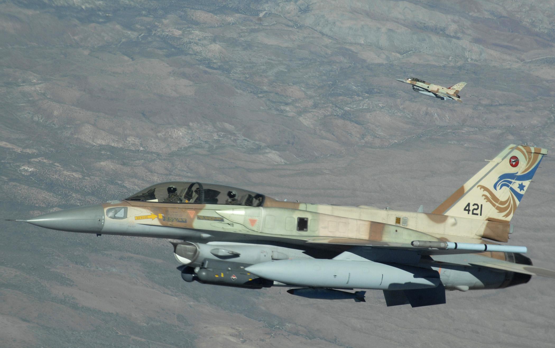 Resultado de imagem para f-16 israelense