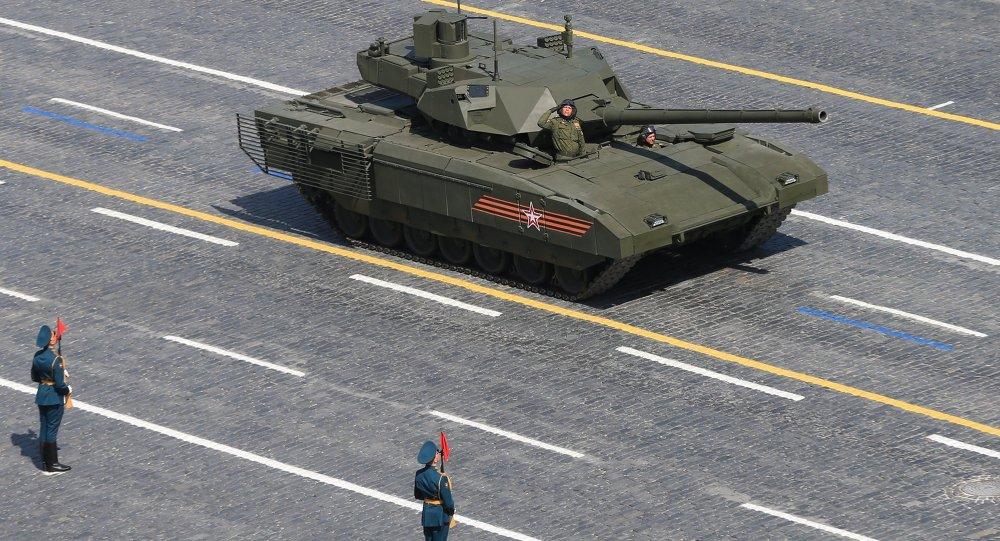 Índia usará Armata como protótipo para desenvolver novo tanque