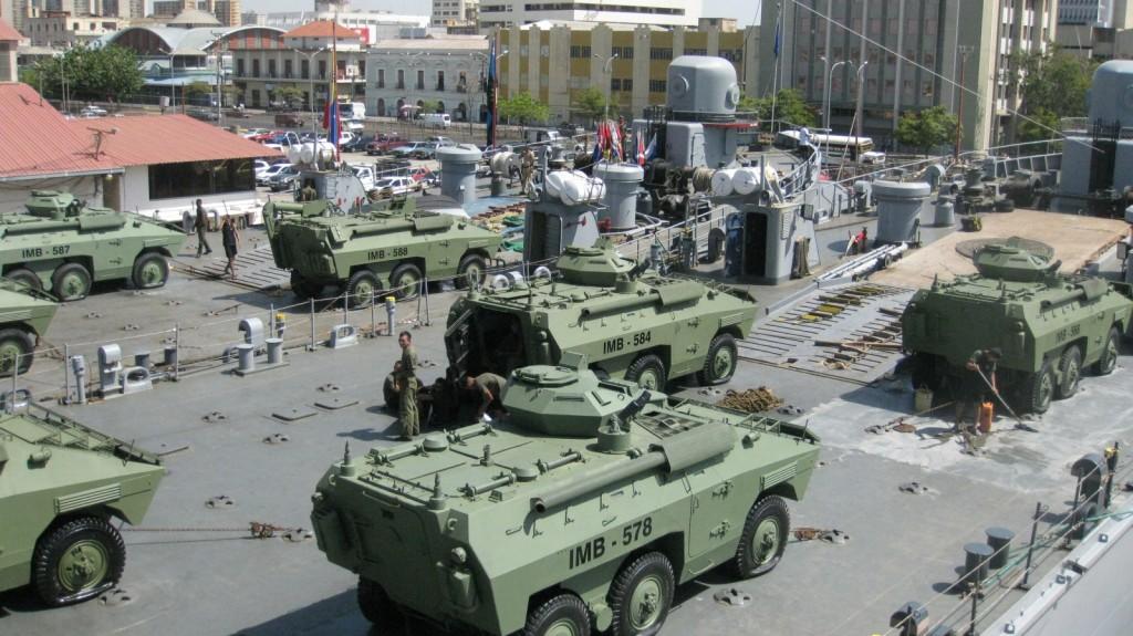 Marinha da Venezuela melhora a capacidade de operação noturna dos seus Urutús