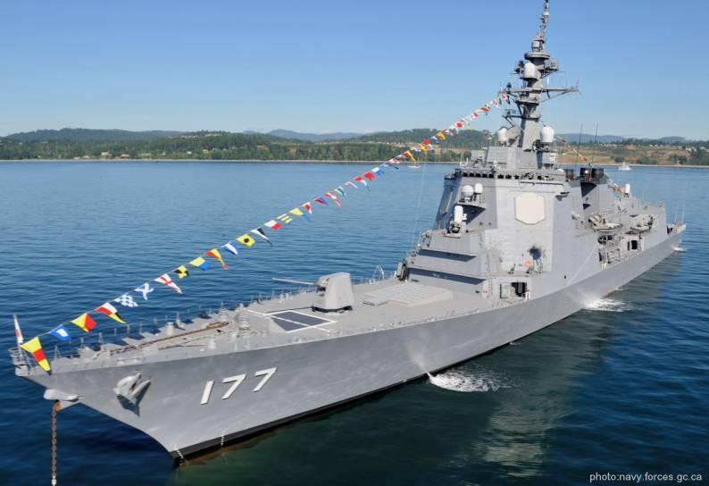 Japão que deverá reforçar defesa de mísseis navais