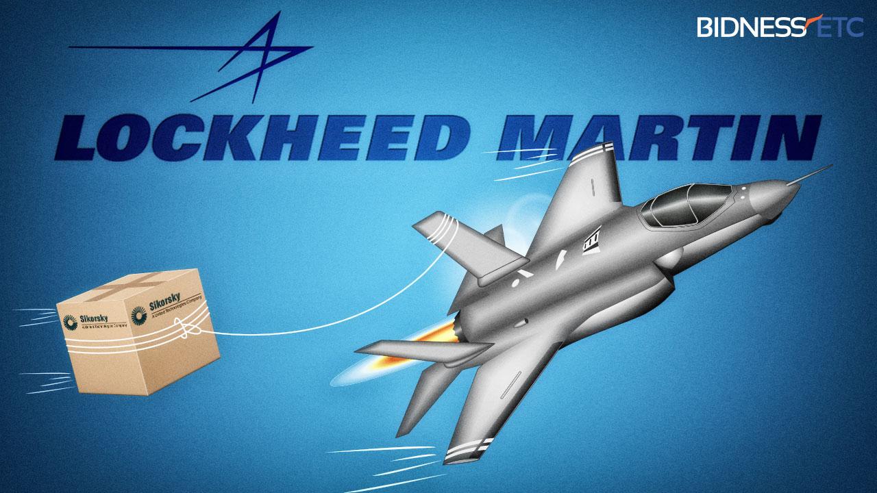 Lockheed Martin adquire a Sikorsky Aircraft e conduz análise estratégica de TI e Negócios em serviços técnicos.
