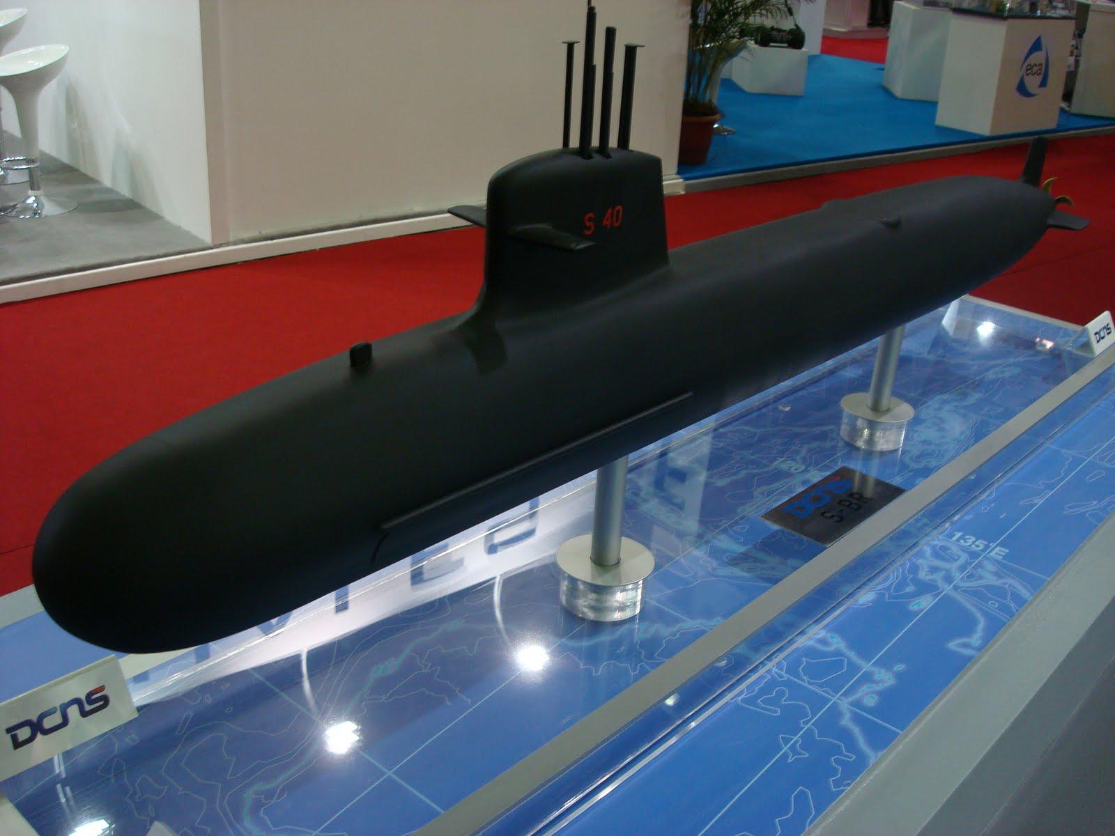 """Submarinos Classe Scorpène e o """"S-BR"""""""