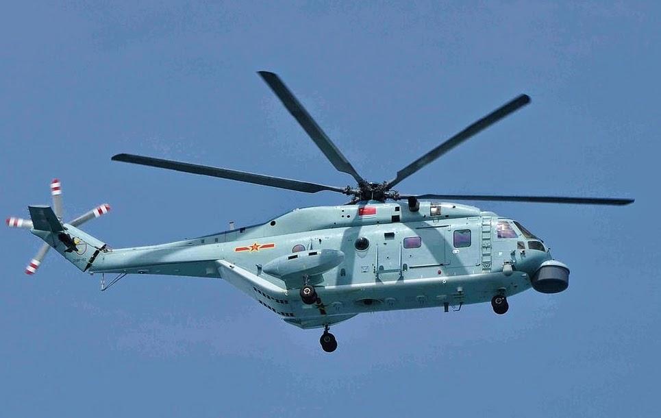 Z 18F a nova aeronave ASW da Marinha do PLA
