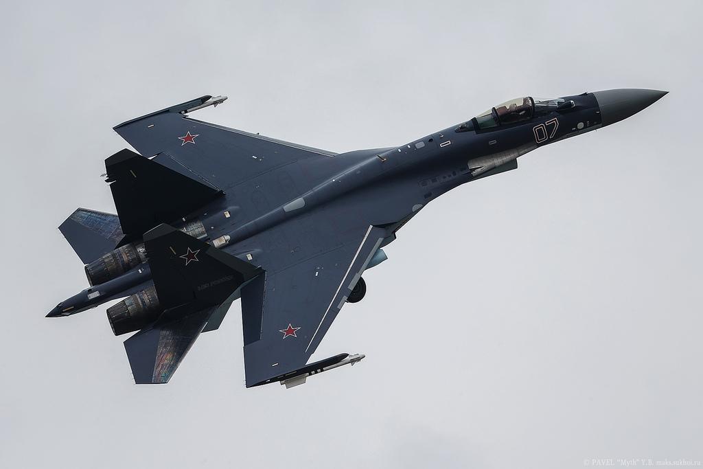 Rússia encomendará mais 48 SU-35