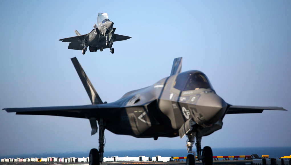 US Marine Corps declara o F-35B Operacional