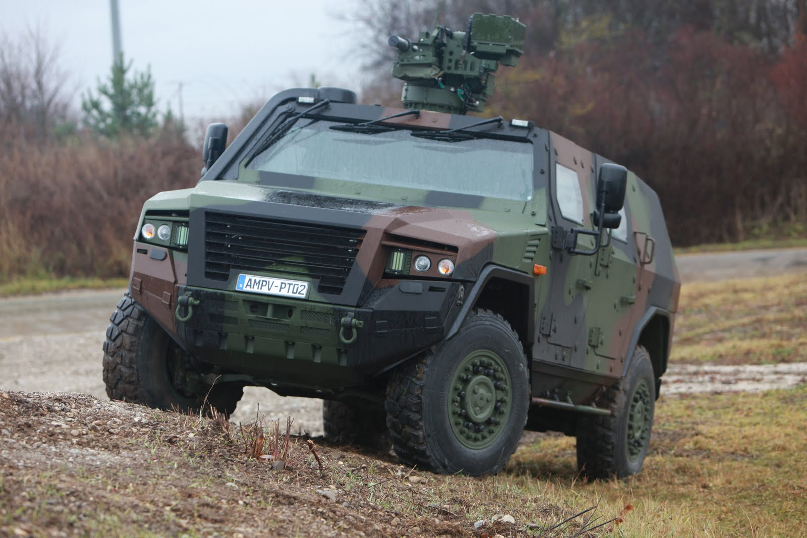 Rheinmetall MAN, KMW e ROSOMAK SA juntas no AMPV para a Polônia