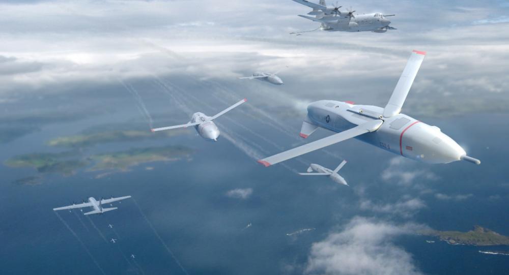 """""""Gremlins"""": A nova geração de UCAV da DARPA"""