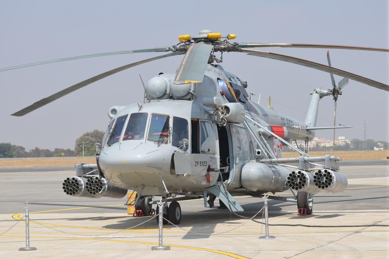 Índia adquire mais 48 Helicópteros Mil Mi 17