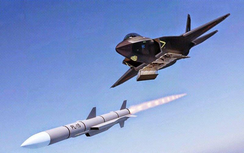 China realiza com sucesso testes do novo BVR PL-15 e promove reviravolta e preocupação nos EUA