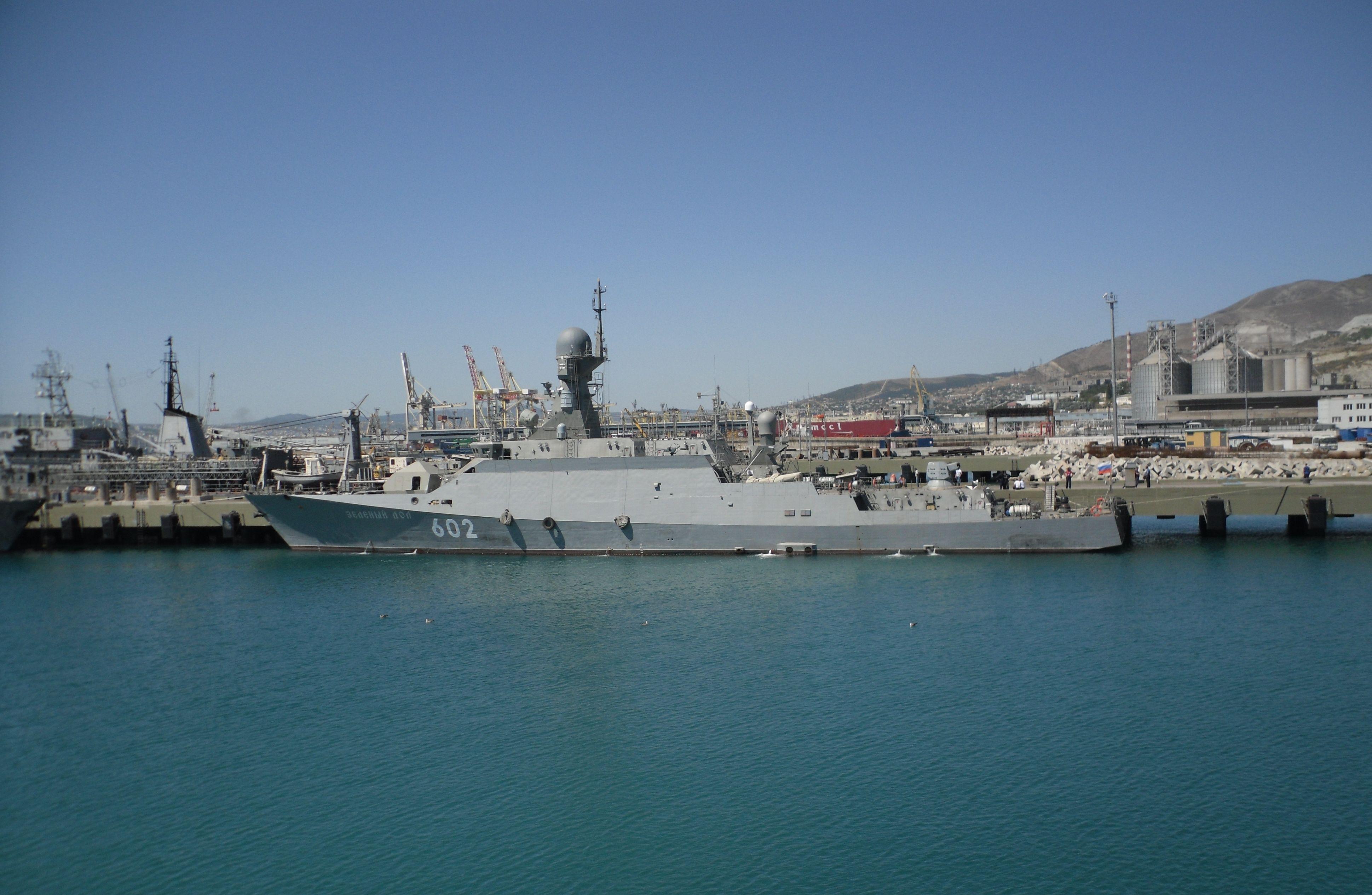 Zeleni Dol e Serpuhov  chegam ao Mar Negro