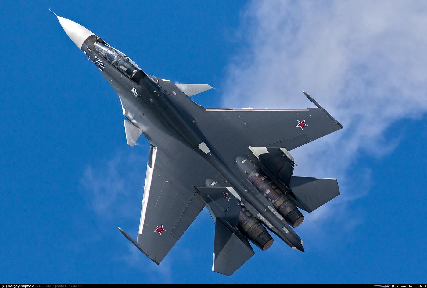 Sukhoi em céus de Brigadeiro
