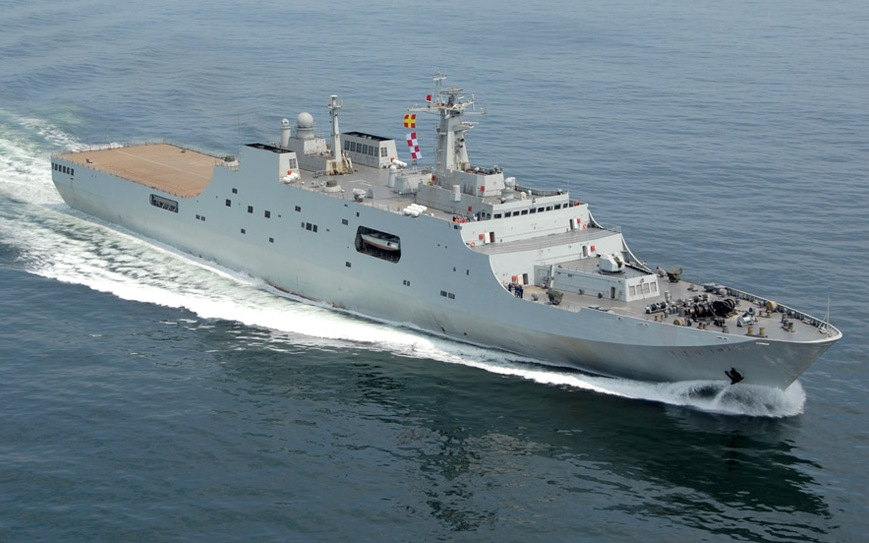 Type 071 YUZHAO Jinggang Shan井冈 999 Kunlun Shan昆仑山 998 Amphibious Transport Dock LPD amphibious warfare ships of the People's Republic of China's People's Liberation Army Navy chinese (2)