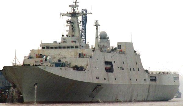Marinha de àguas Azuis: PLAN lança para testes de mar o 4º LPD Type 071