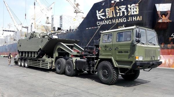 Fuzileiros Venezuelanos recebem novo lote de veiculos da China