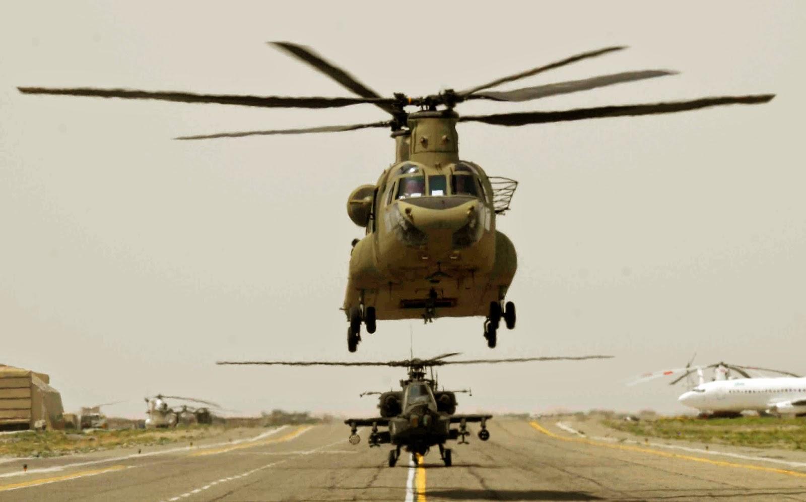 Boeing fatura Chinook e Apache na Índia