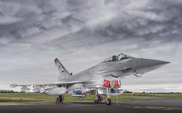 Kuwait vai de 28 Eurofighter Typhoon