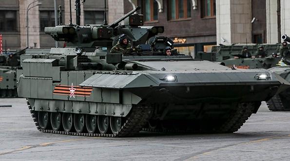 Blindados, veículos não tripulados e artilharia, novidades Russas