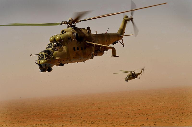 Afeganistão pode assinar contrato para aquisição de Mil Mi 35 ainda neste mês