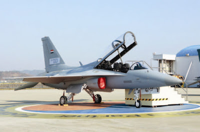 Primeiras imagens do T- 50IQ da Força Aérea Iraquiana