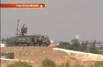 Krasuha-4 na Síria