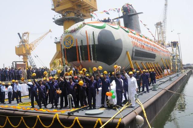 Marinha Indiana pode contratar mais 4 SSK Scorpene
