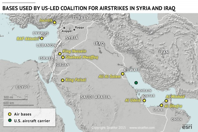 Stratfor's analysis of an expanded Russian air campaign into Iraq 2