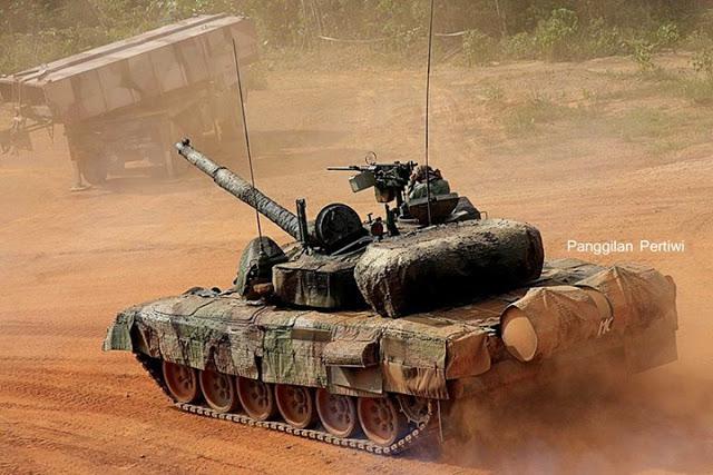 Malásia incorpora sistema de camuflagem Multi Spectral PT-91M Pendekar