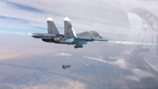 Rússia diz ter bombardeado 86 'alvos terroristas' na Síria em 24 horas
