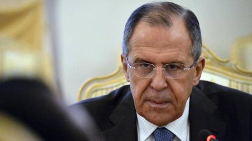 """O chanceler russo: Lavrov disse que informou a Kerry sobre a intervenção da Rússia, a pedido da presidência síria, para combater """"exclusivamente o Estado Islâmico e outros grupos terroristas"""""""