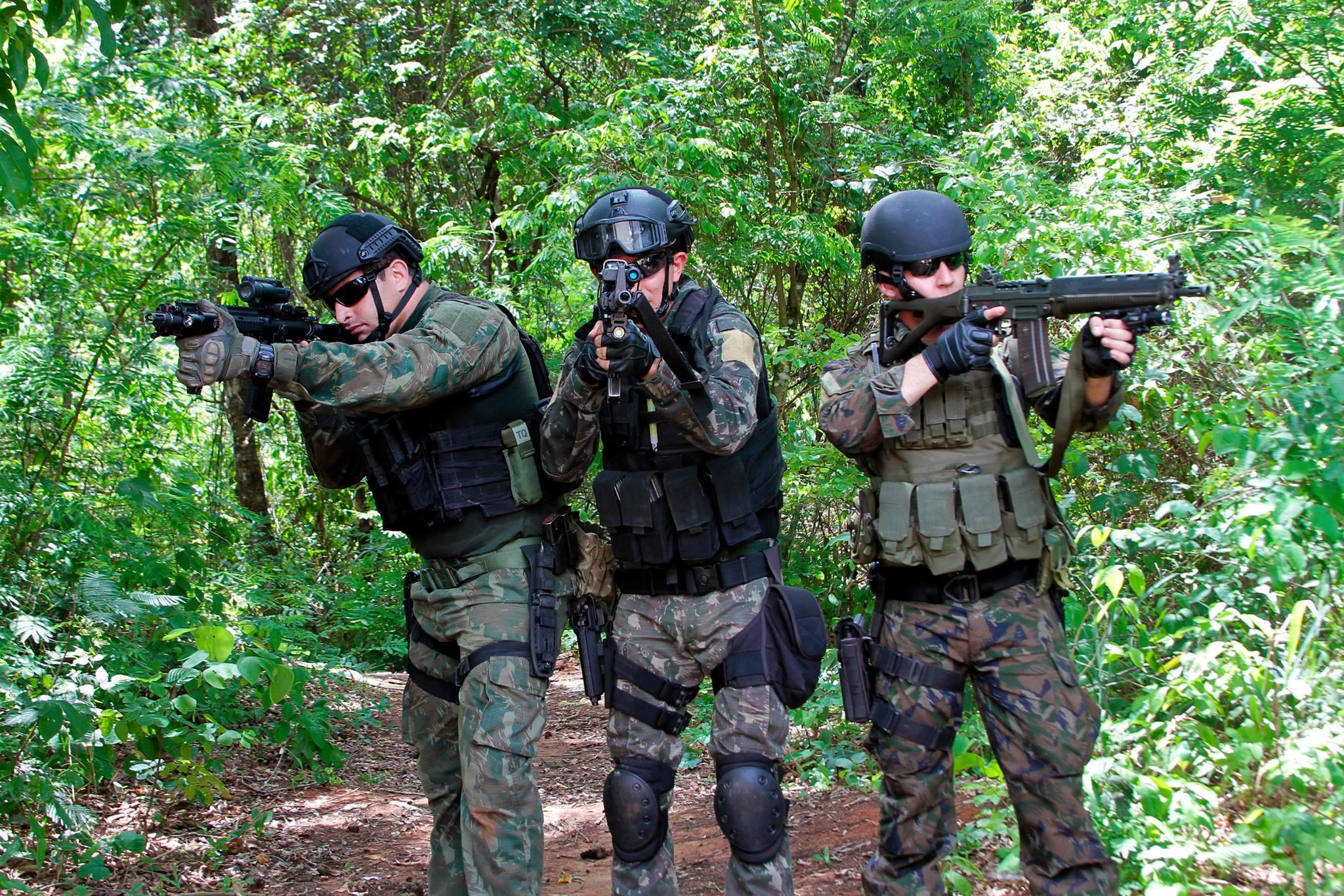 Forças de Operações Especiais se preparam para as Olímpiadas 2016